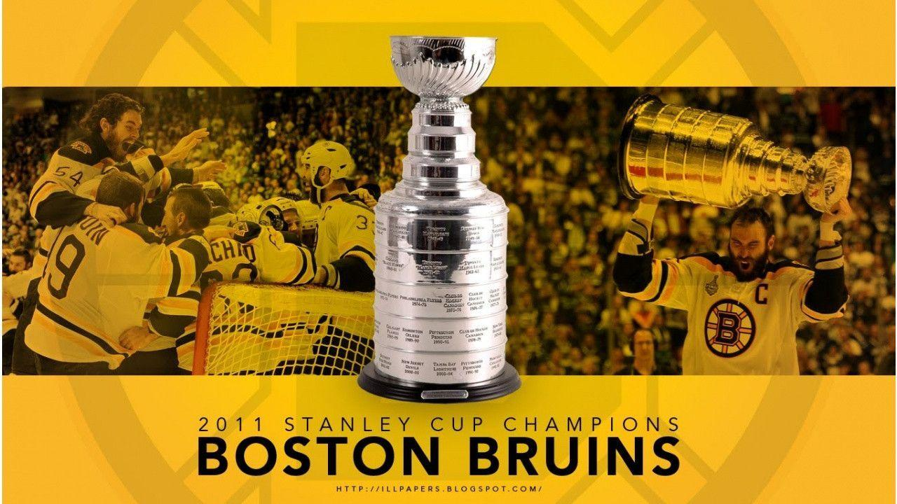 2011 Boston Bruins Stanley Cup Champions Wallpaper