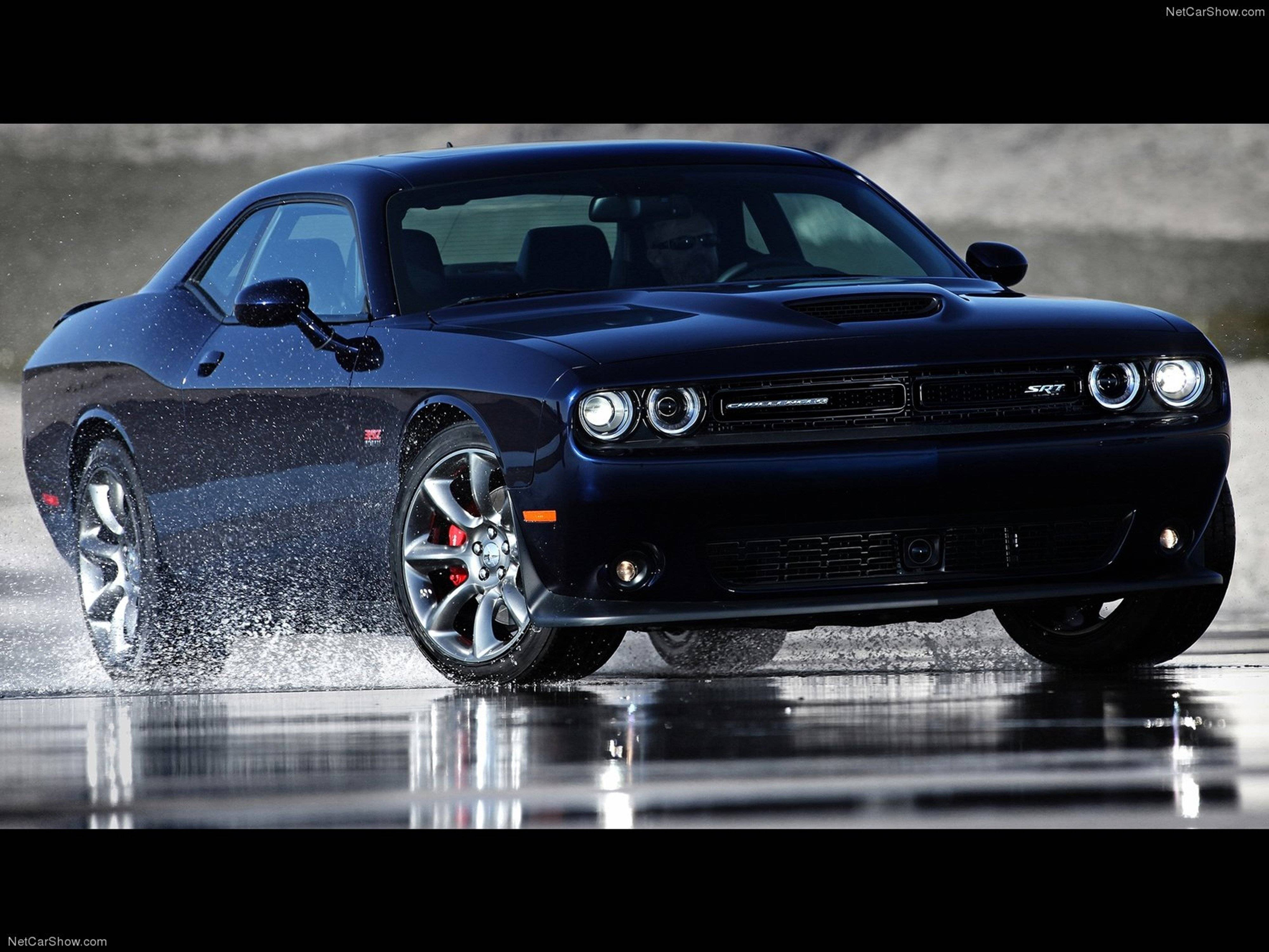 Dodge challenger srt 2015 muscle car car sport black wallpaper