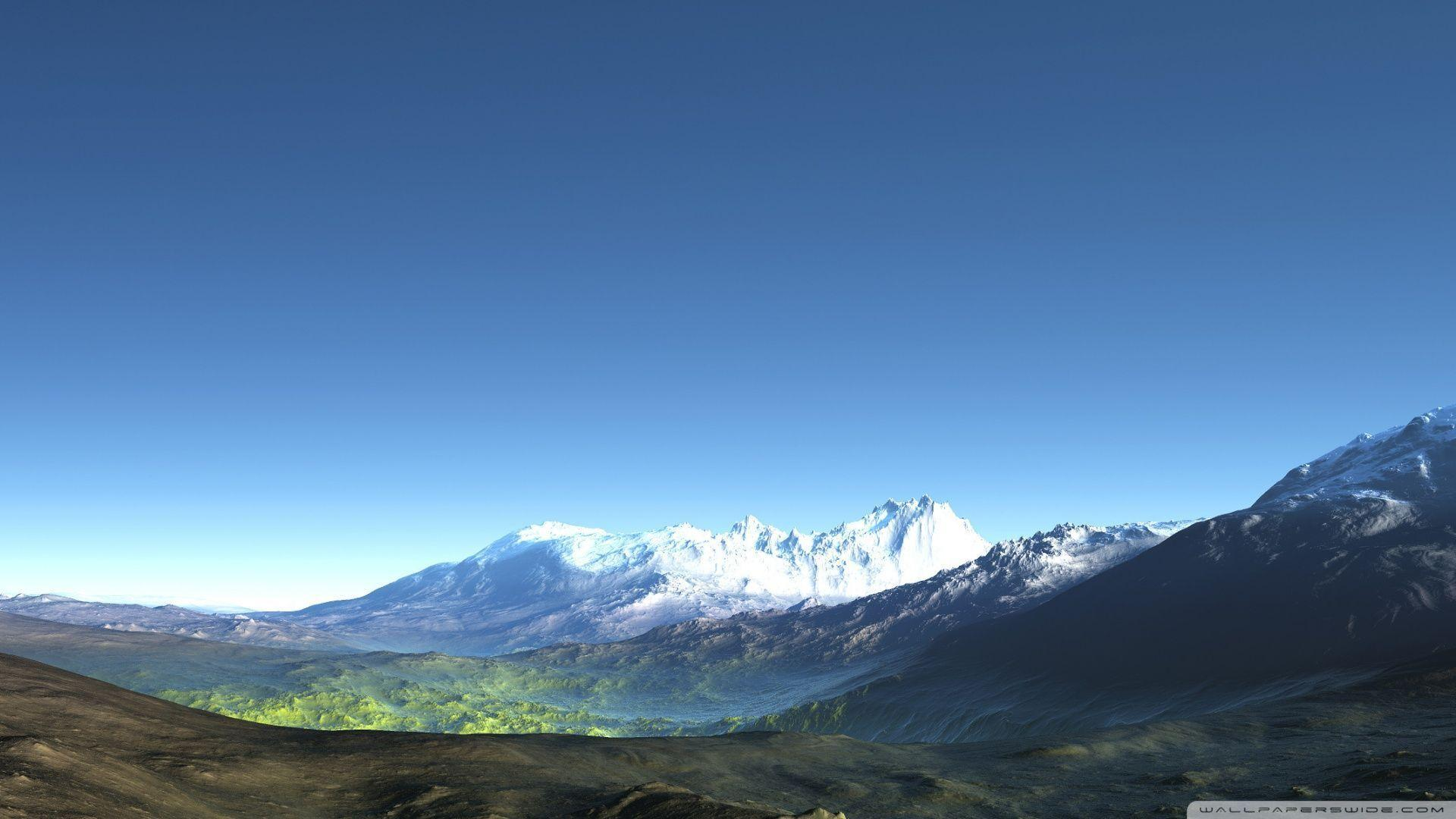 3d mountain wallpaper - photo #4
