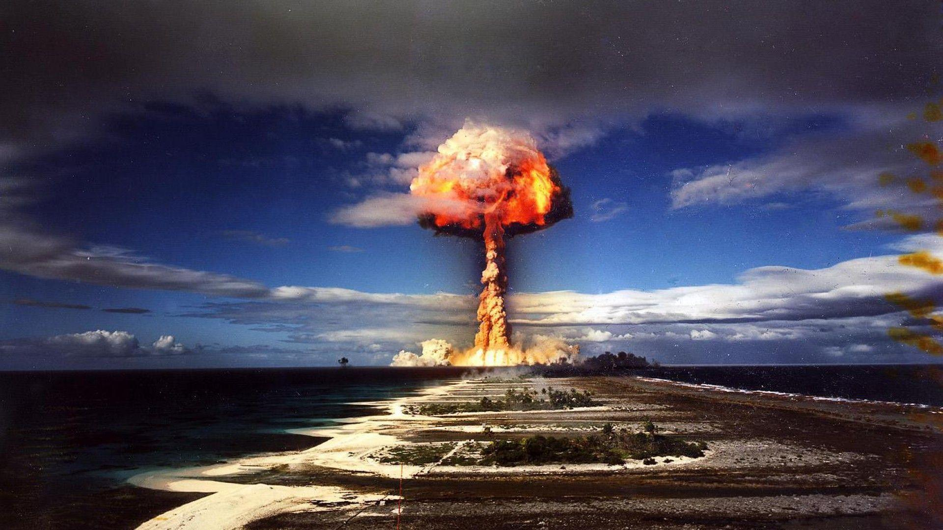 Wallpapers For > Nuclear Explosion Wallpaper 1920x1080