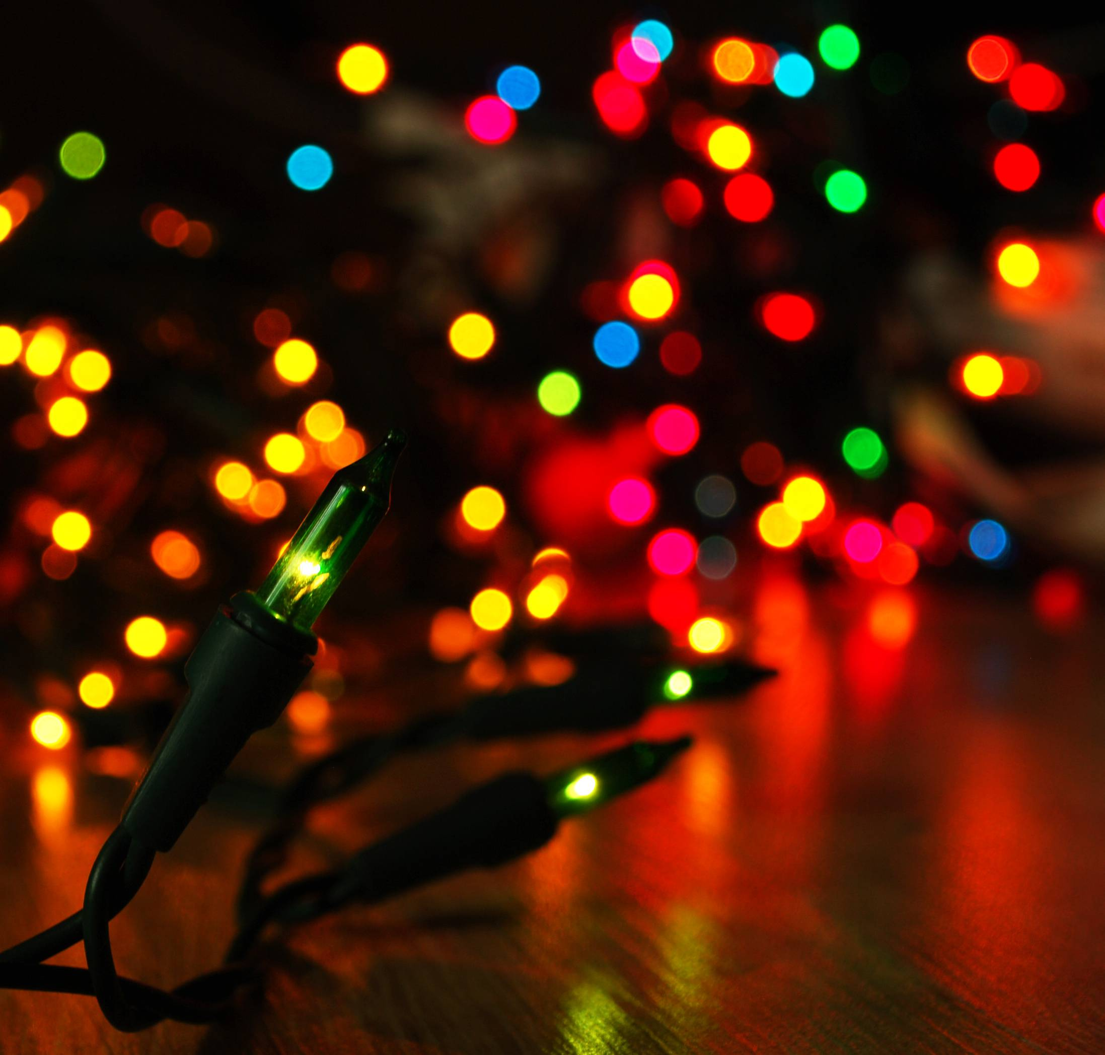 Christmas lights wallpaper - Wallpapers For Christmas Lights Background Wallpaper