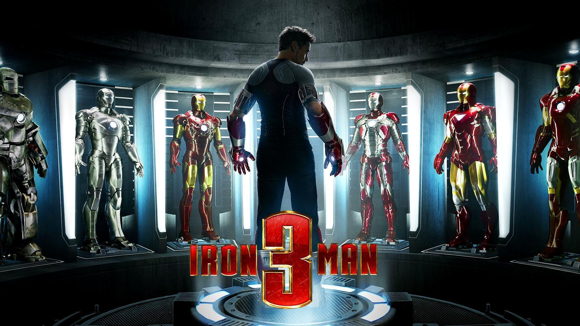 Iron Man 3 Suits of Armor Exclusive HD Wallpapers