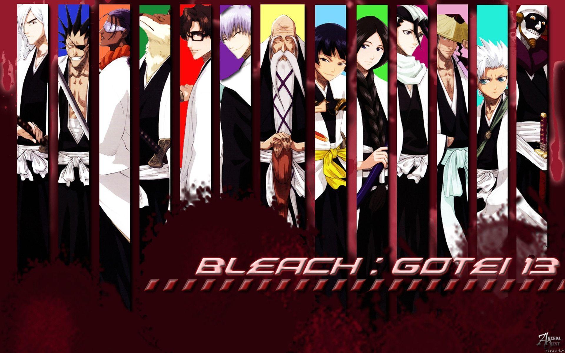 Anime Bleach Gotel Wallpaper