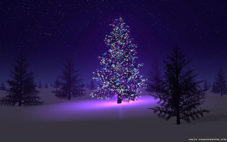 Camouflage And Christmas Lights