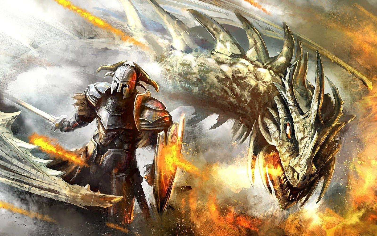 Wallpapers For > Epic Dragon Fantasy Wallpapers