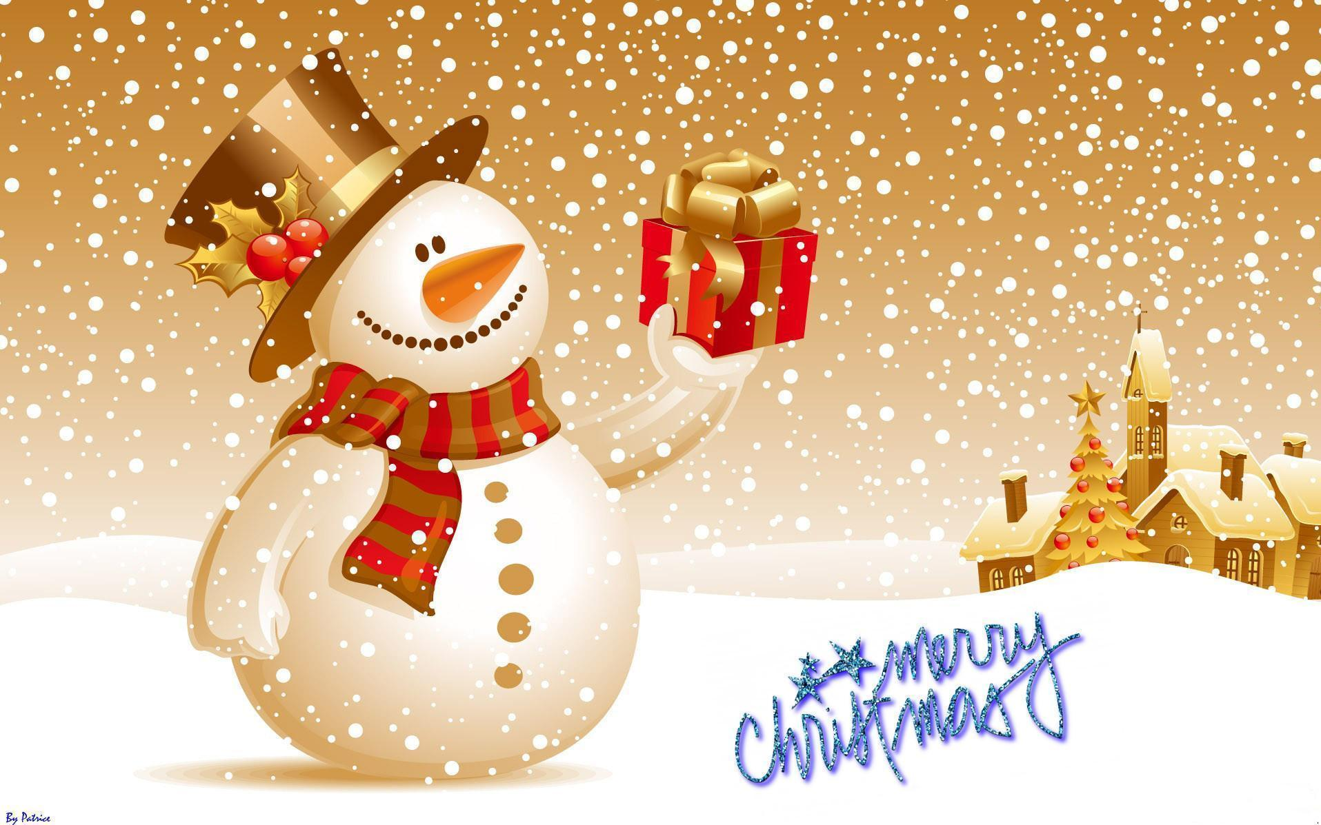 Cute Christmas Desktop Backgrounds