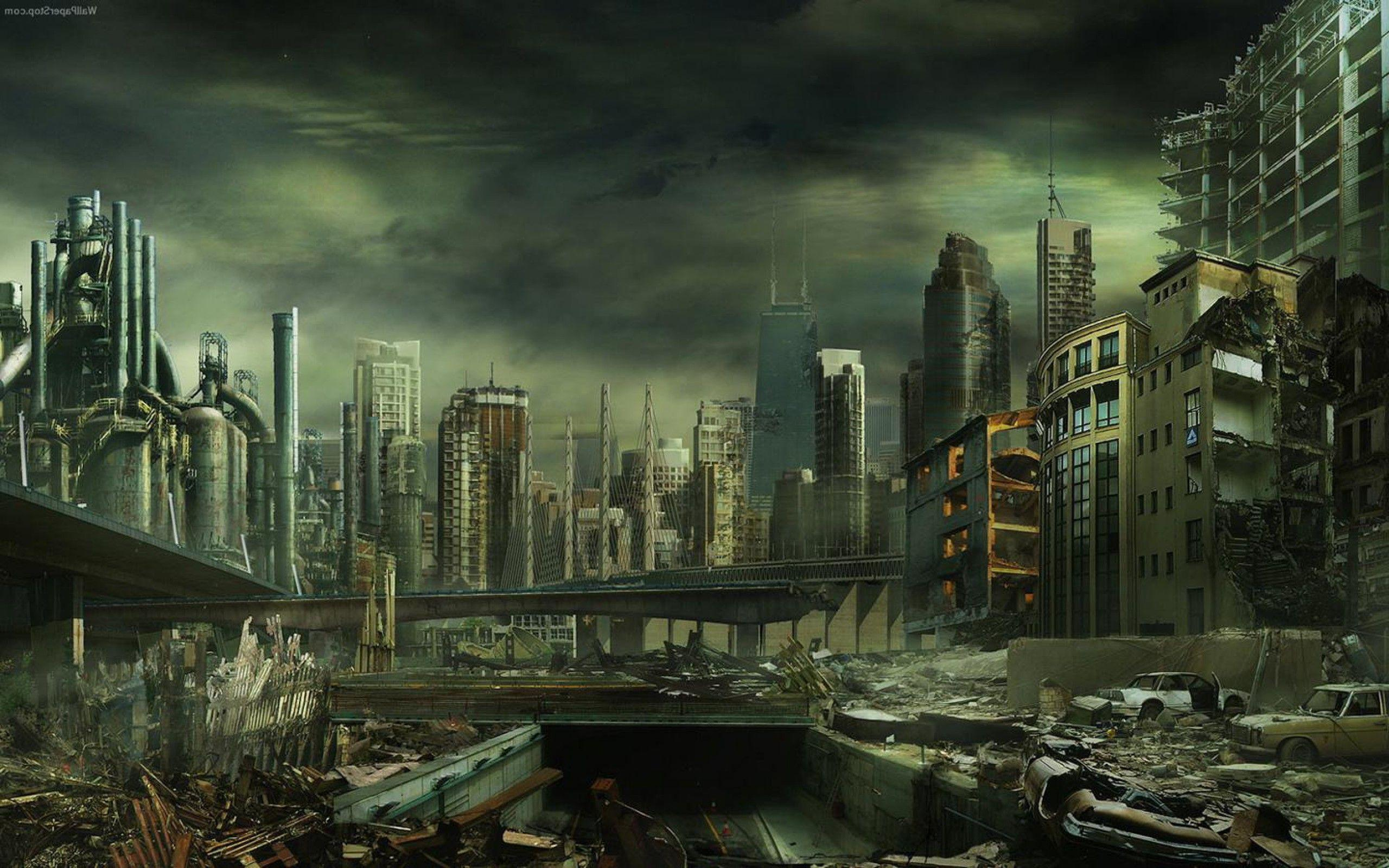 Destroyed City Wallpapers