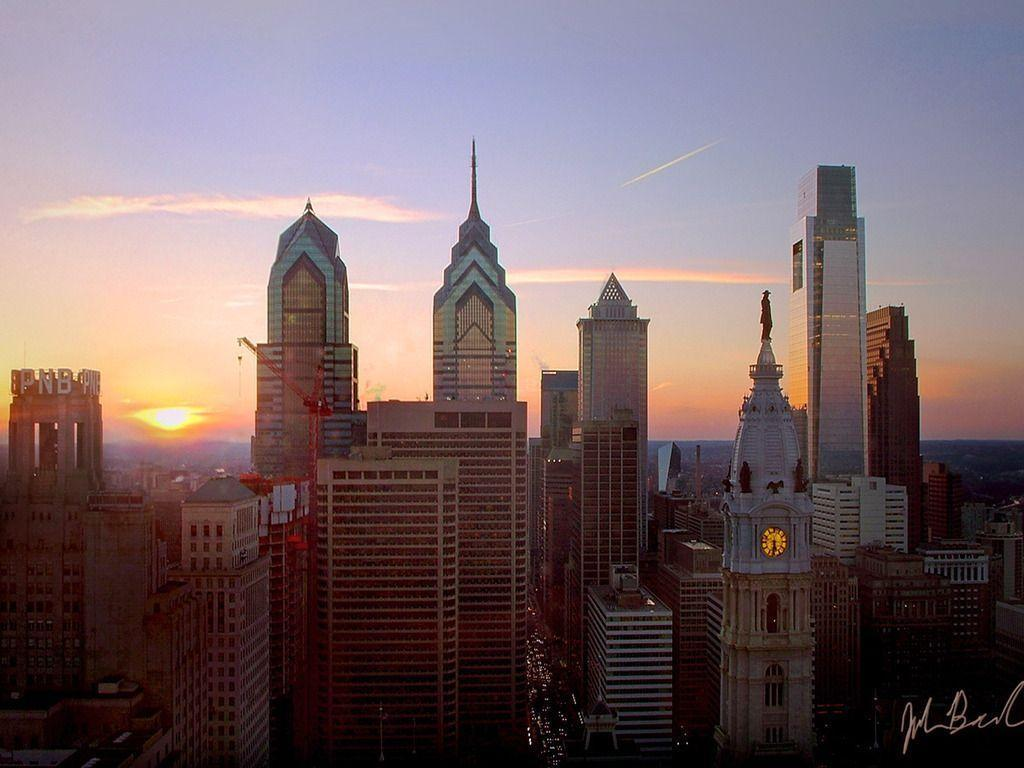 philadelphia skyline wallpaper - photo #13