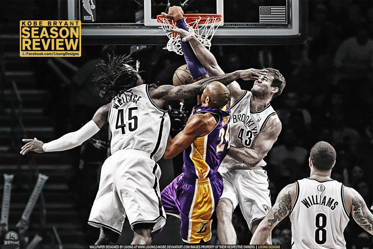 Kobe bryant wallpapers wallpaper cave kobe bryant dunks on brooklyn wallpaper streetball voltagebd Gallery