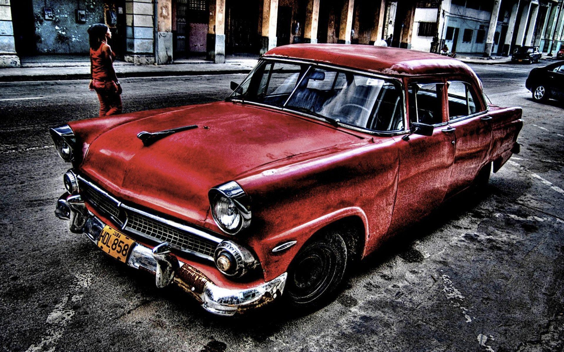 Old School Cars Wallpapers Wallpaper Cave