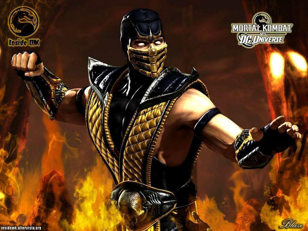 Images Of Scorpion From Mortal Kombat For Wallpaper: Scorpion Mortal Kombat Wallpapers