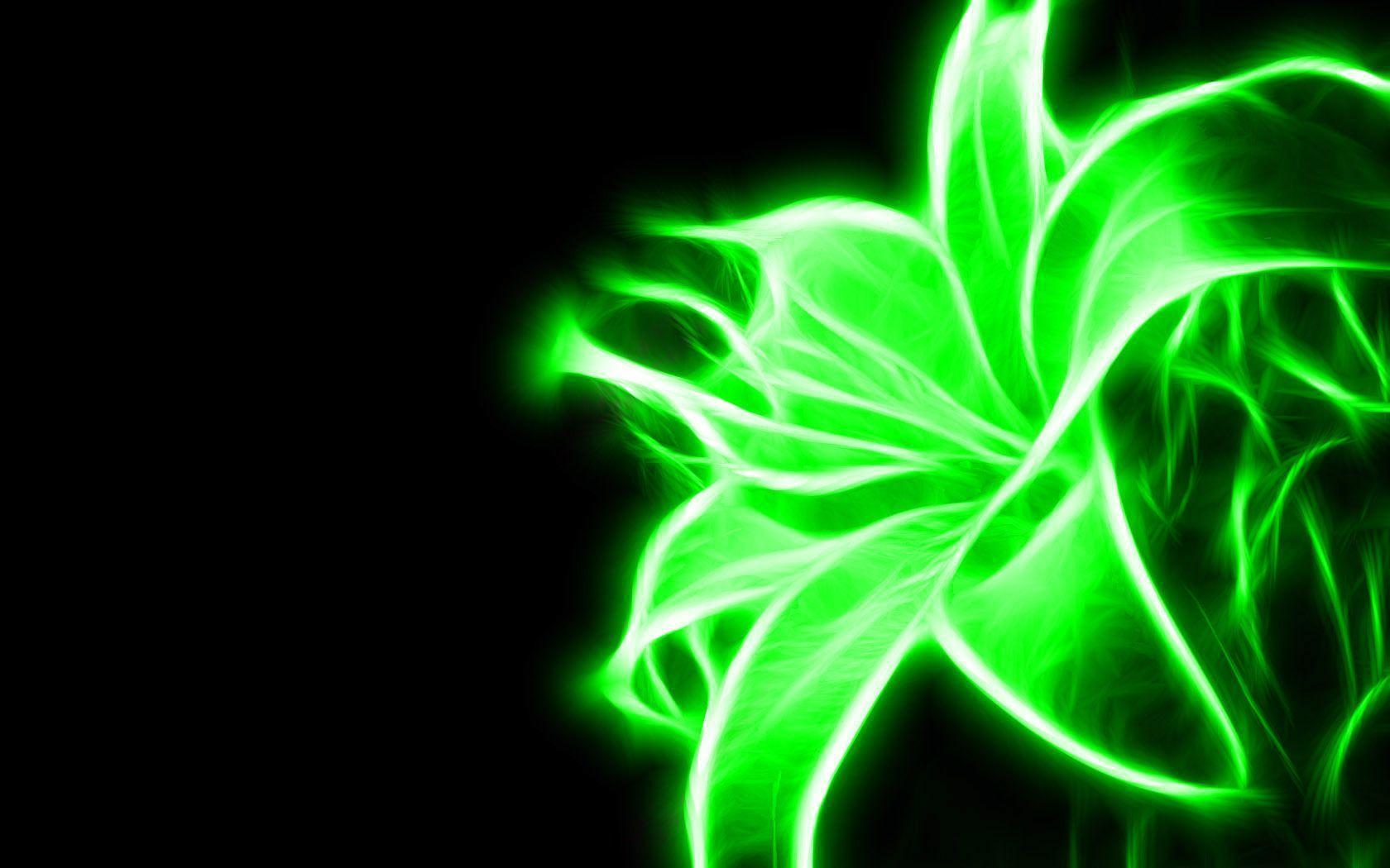 green neon background - photo #2