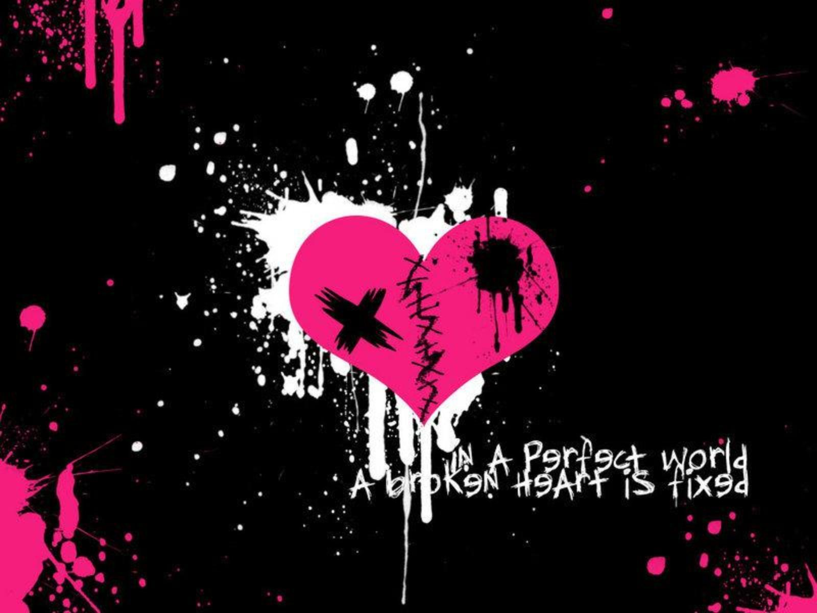 Hd wallpaper emo - Emo Heart Exclusive Hd Wallpapers