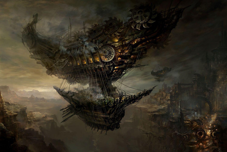 2560x1080 Final Fantasy Xv Artwork 2560x1080 Resolution Hd: Steampunk Wallpapers HD