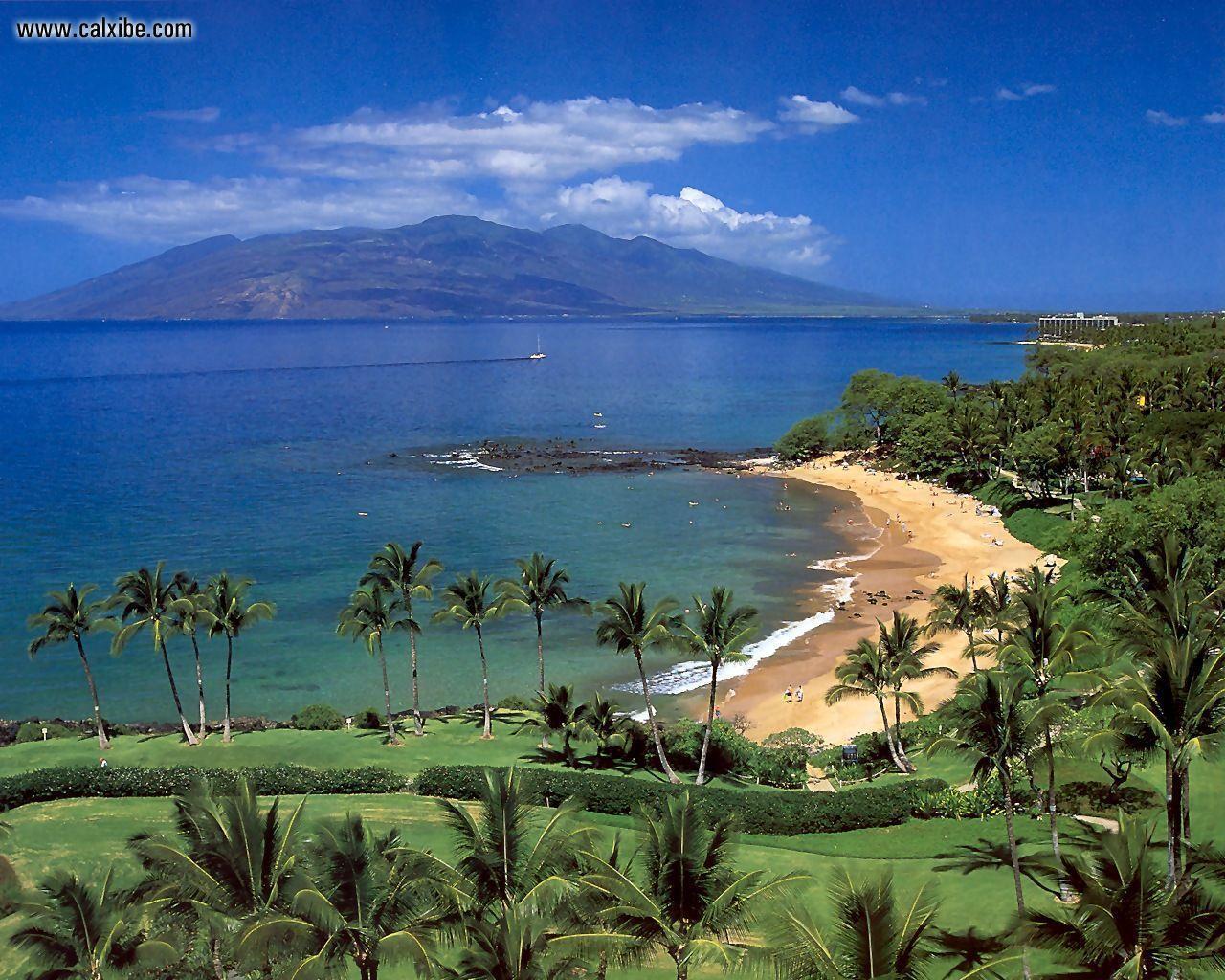 Hd Tropical Island Beach Paradise Wallpapers And Backgrounds: Tropical Beach Wallpapers Desktop