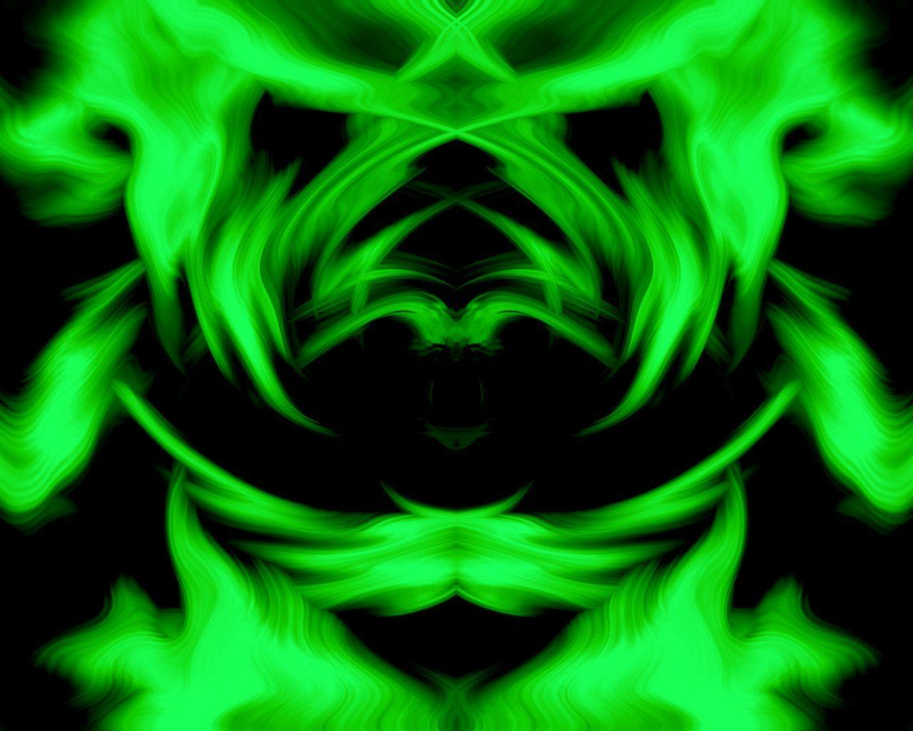 green neon background - photo #22