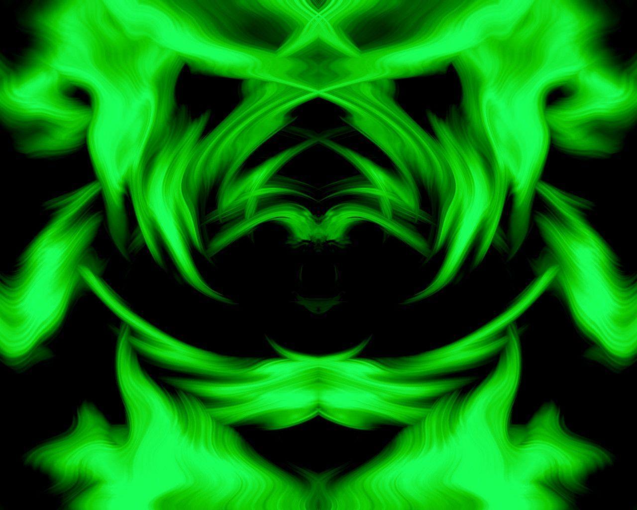 green neon background - photo #22