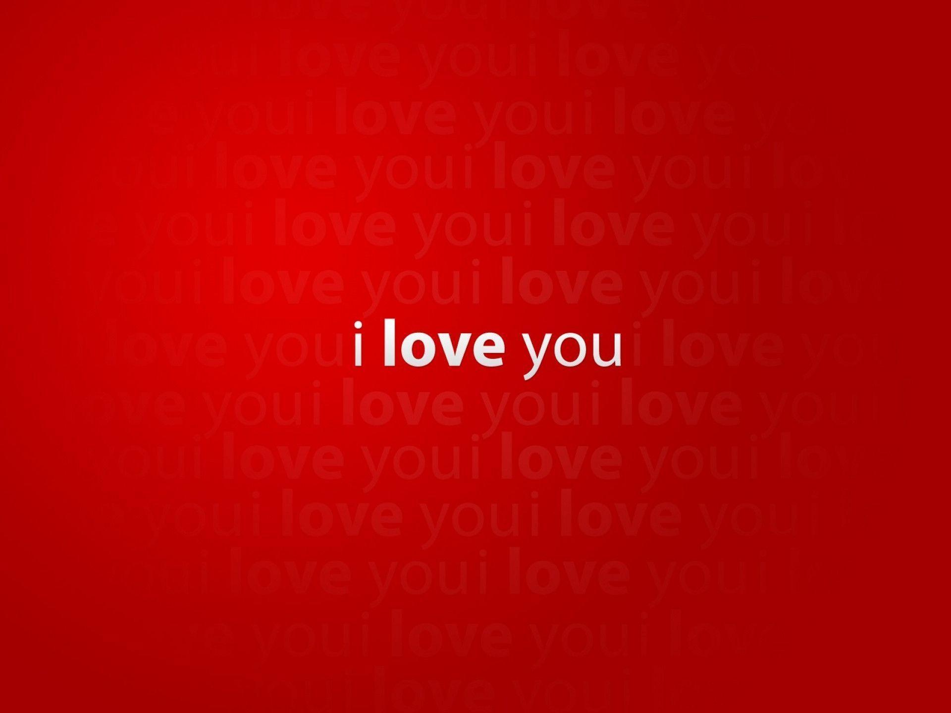 I Love You Desktop Wallpaper 1920x1440 16319 Full HD Wallpaper ...