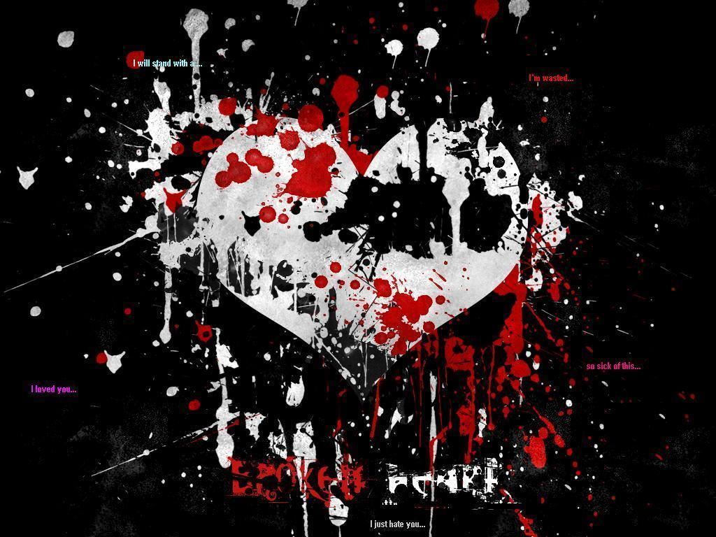 Hd wallpaper emo - Emo Heart Wallpaper Full Hd Wallpapers