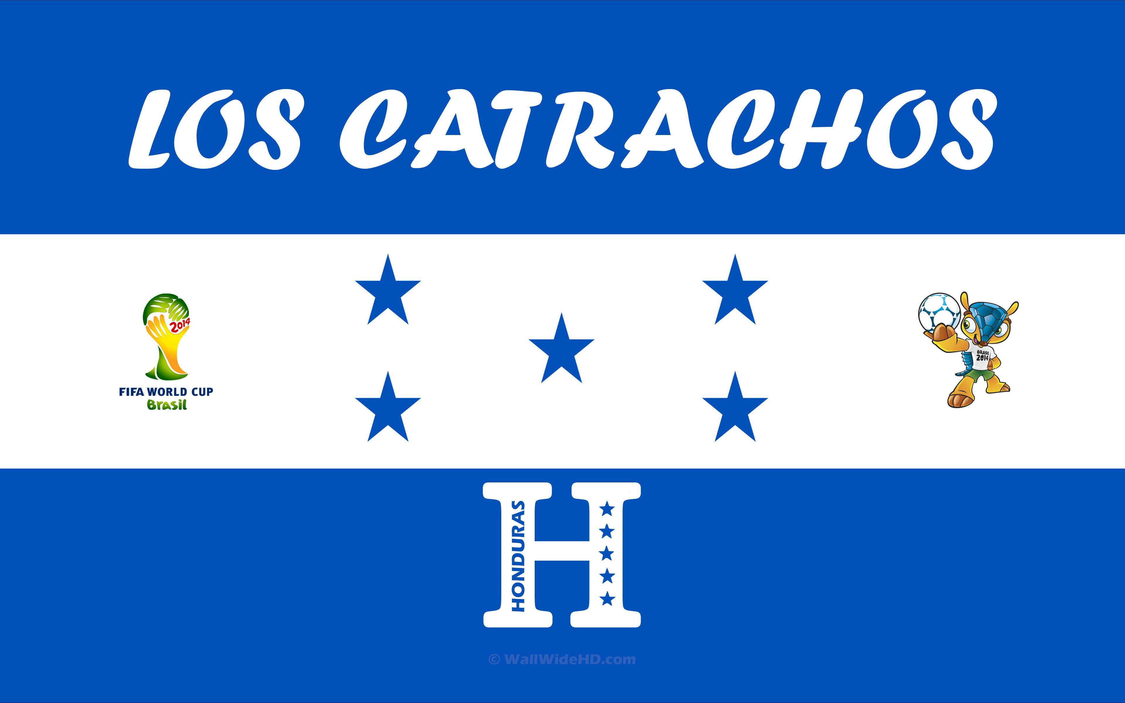 Los Catrachos 2014 Honduras Football Crest Logo World Cup