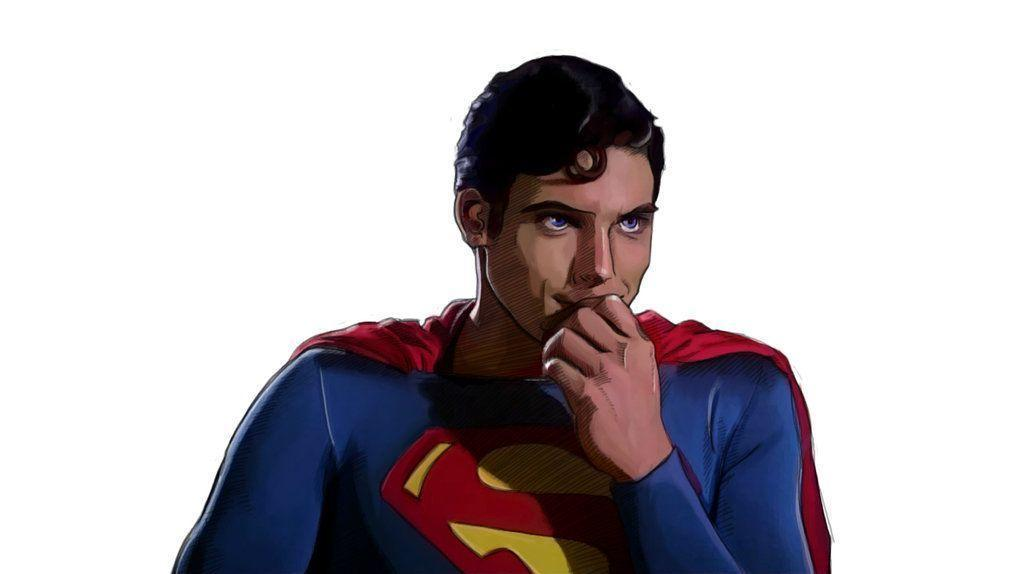Superman Clack Kent - Christopher Reeve by Capbird on DeviantArt