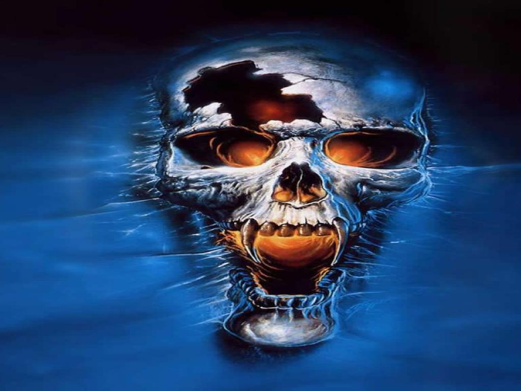 cool skull wallpapers wallpaper cave