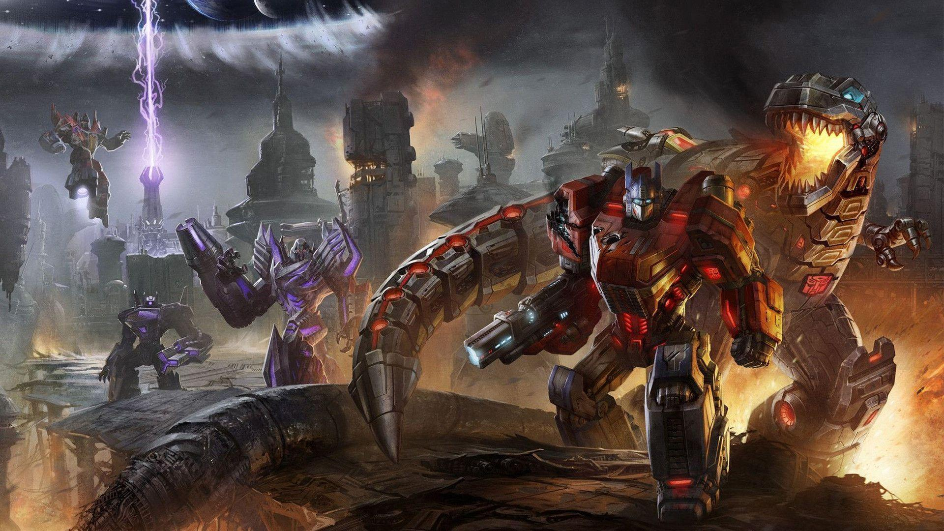 Fall Of Cybertron Wallpapers Wallpaper Cave