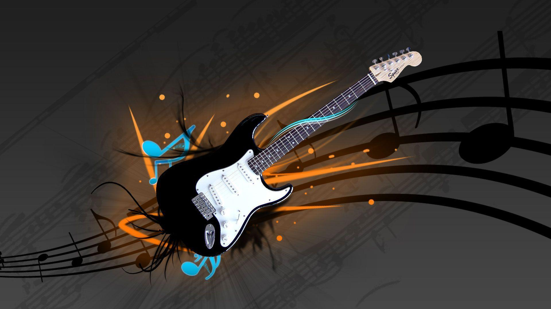 Wallpapers For > Electric Guitar Wallpapers