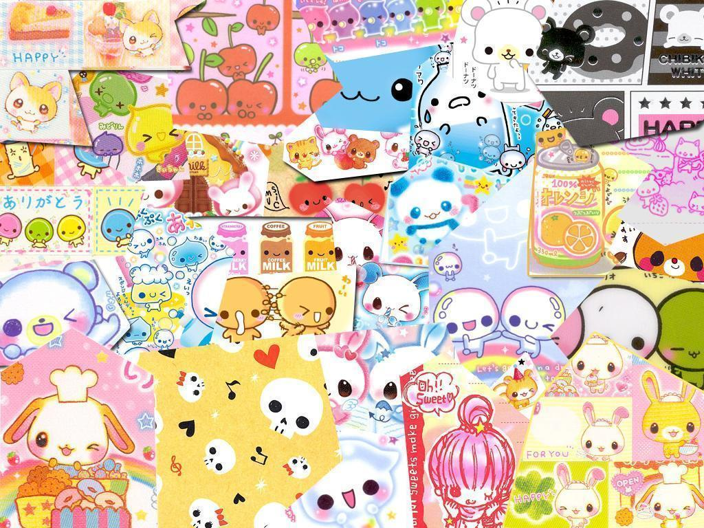 kawaii desktop backgrounds wallpaper cave