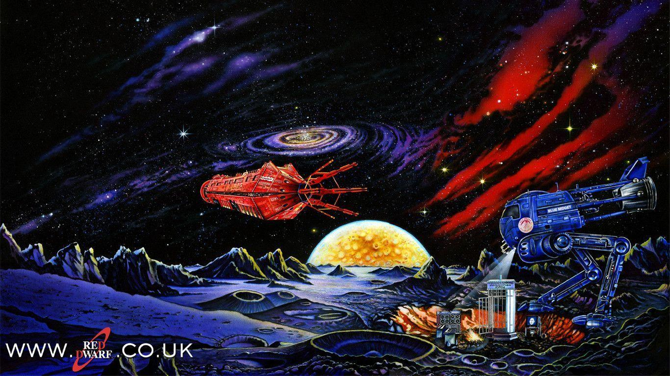 red dwarf ship wallpaper - photo #9