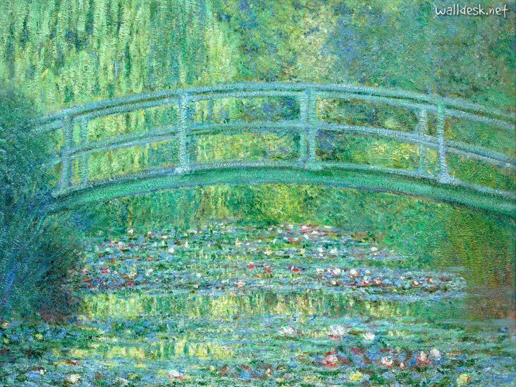 The Japanese Bridge Claude Monet