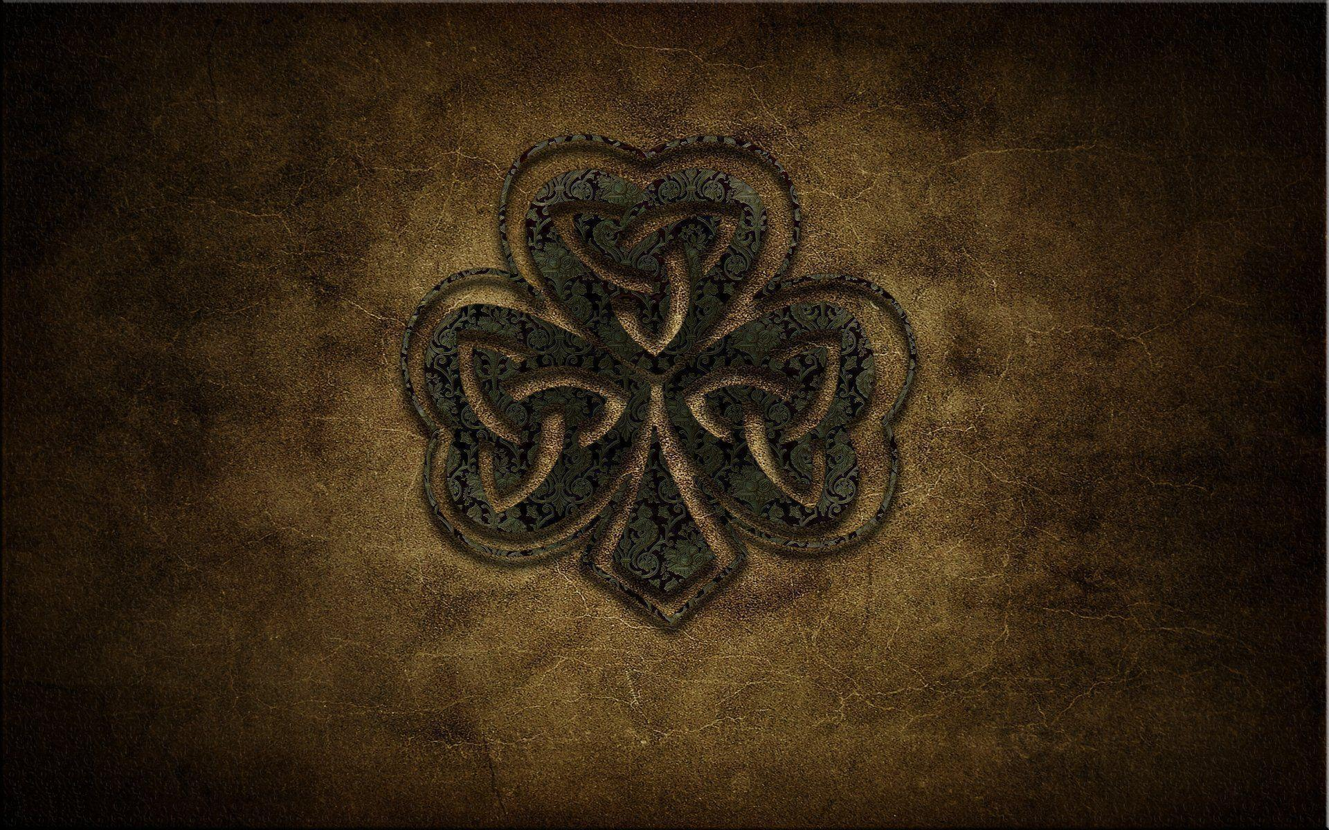 Shamrock Desktop Wallpapers : Pin Wallpapers Celtic Shamrock Tattoo