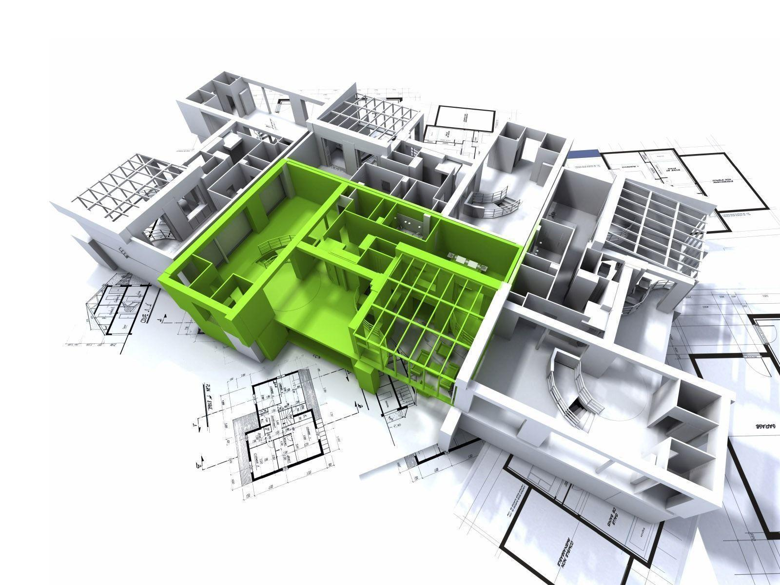 3D Architecture Wallpaper Architecture Other