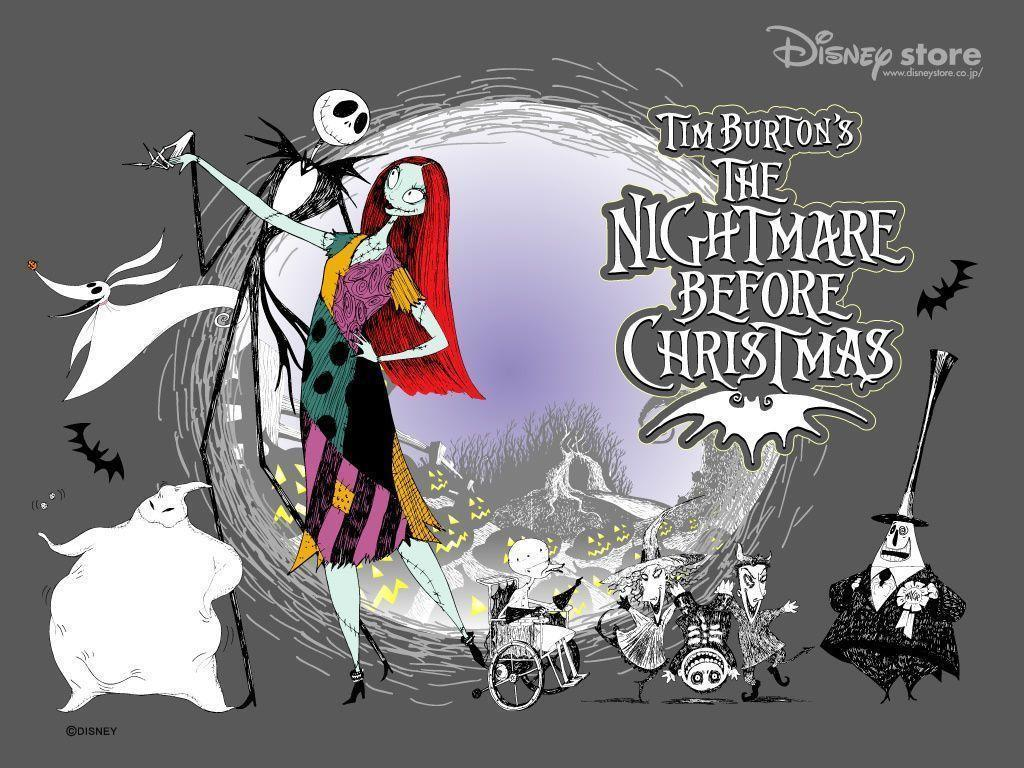Nightmare Before Christmas Characters Wallpapers