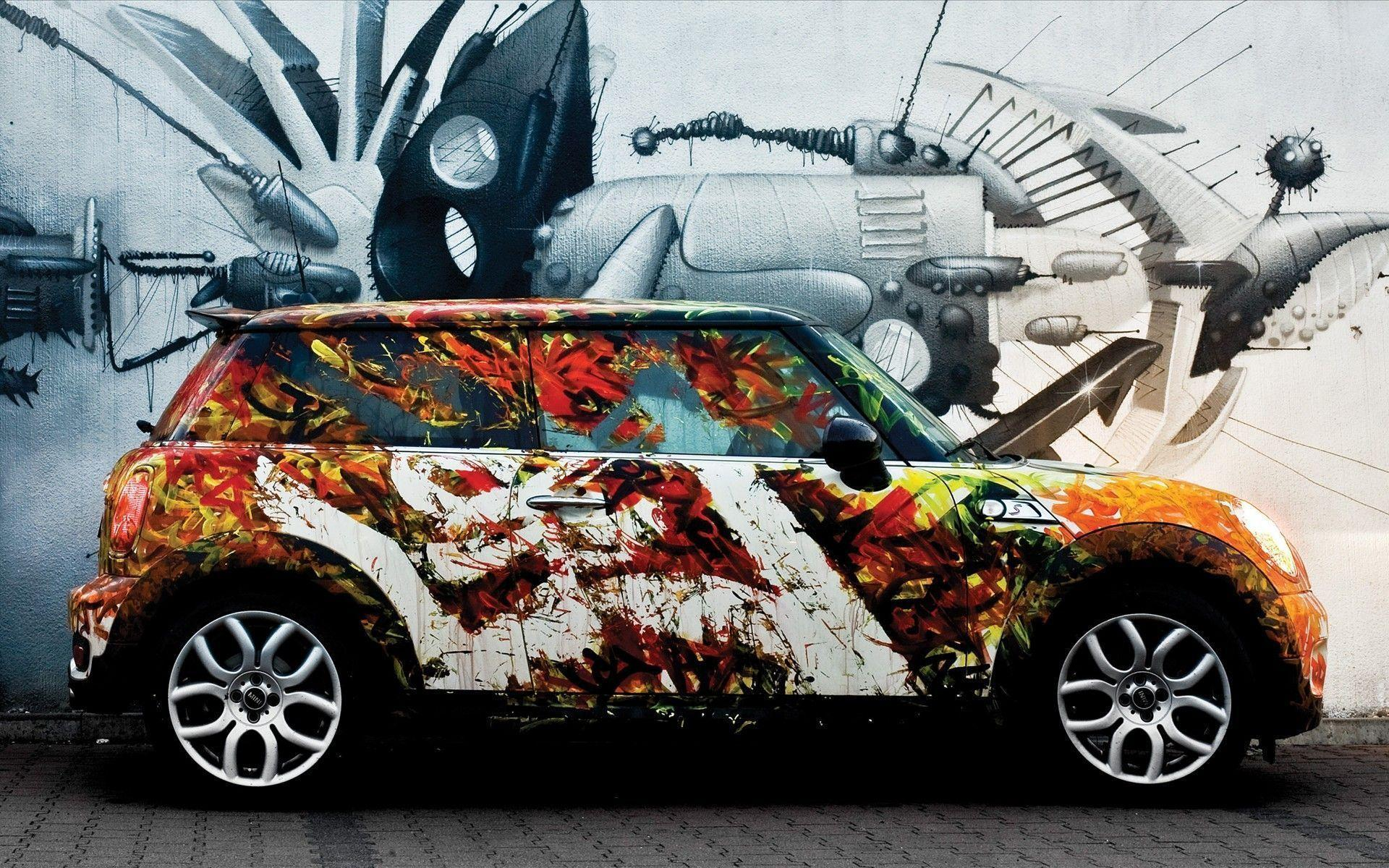 Cars : Personable Imagery Cars HD Hits Image Colorful Mini Cooper