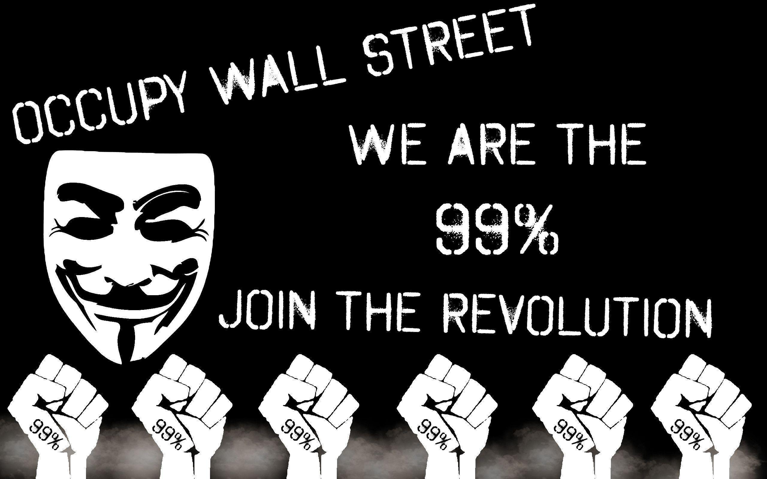 Occupy Wall Street Wallpapers by Silver