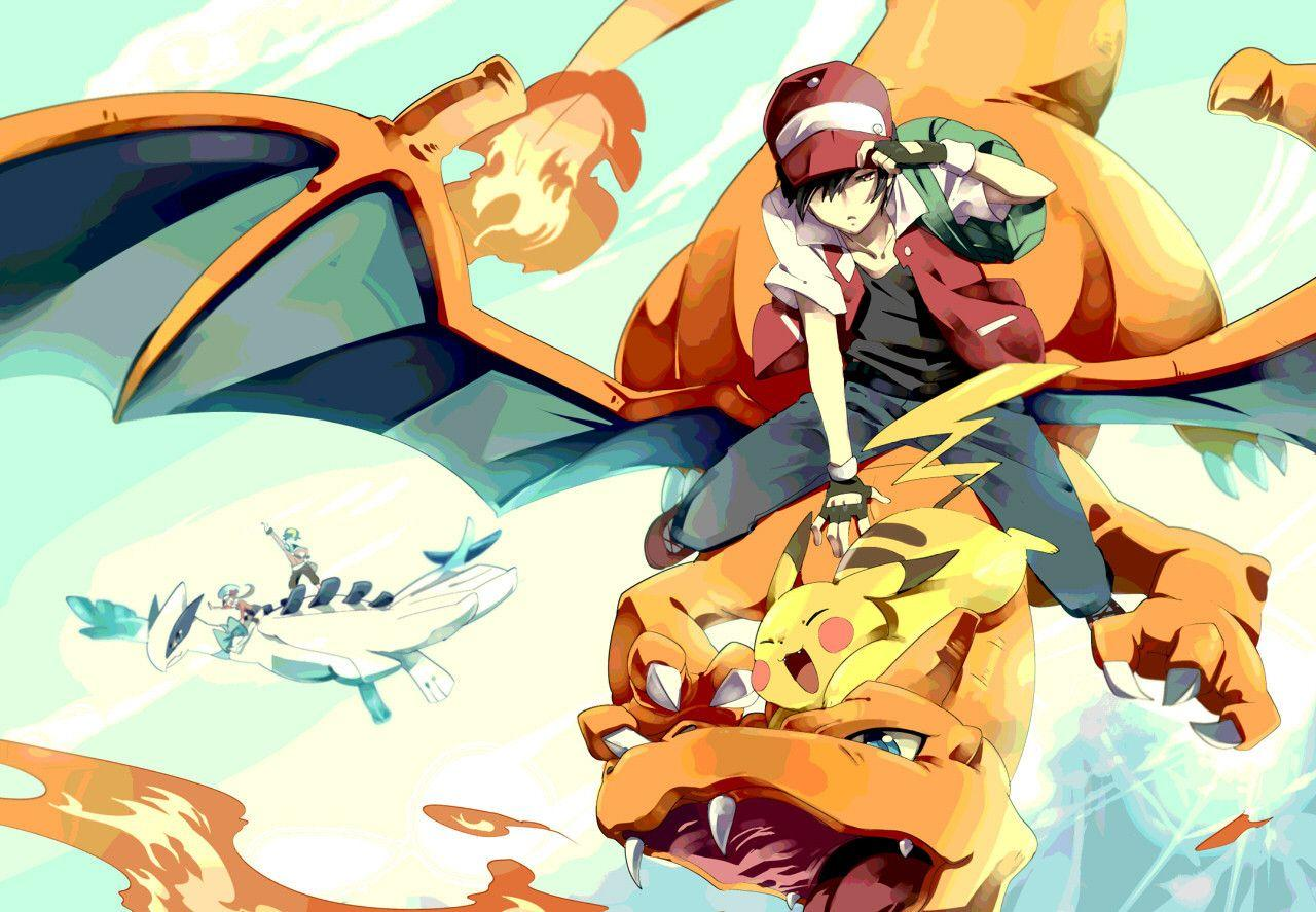 Pokemon Red Trainer Wallpapers Wallpaper Cave