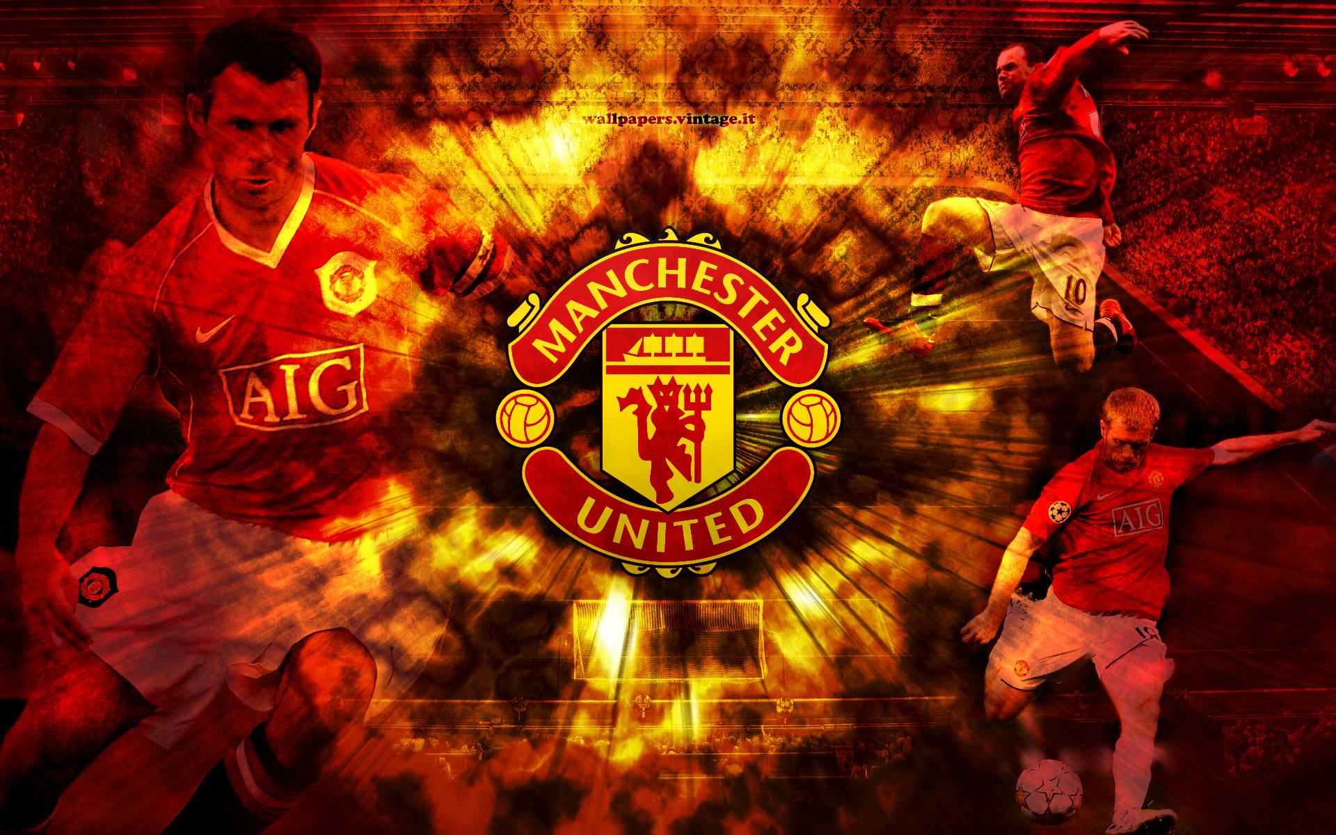 Man Cave Wallpaper : Manchester united wallpapers wallpaper cave