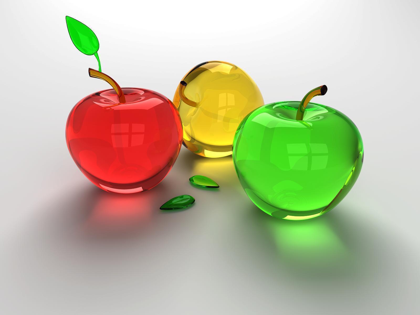 Apple fruit images download - Glass Apples Wallpaper Fruit Wallpaper 2500605 Fanpop