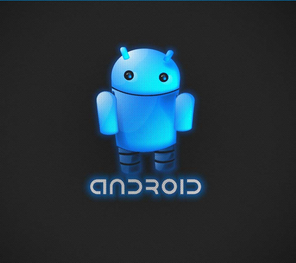 Image For > Blue Android Wallpapers