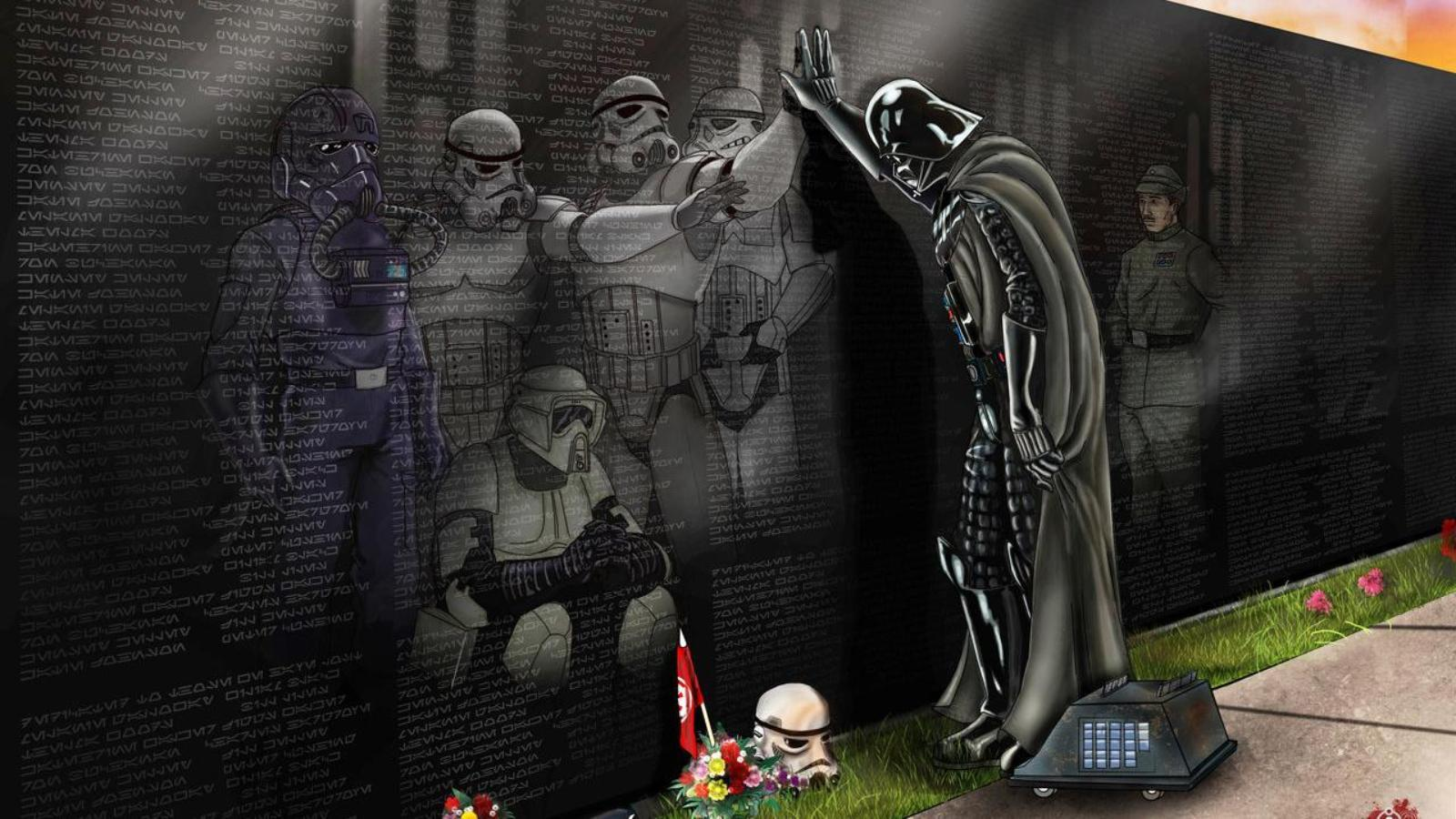 Funny Star Wars Wallpapers Wallpaper Cave