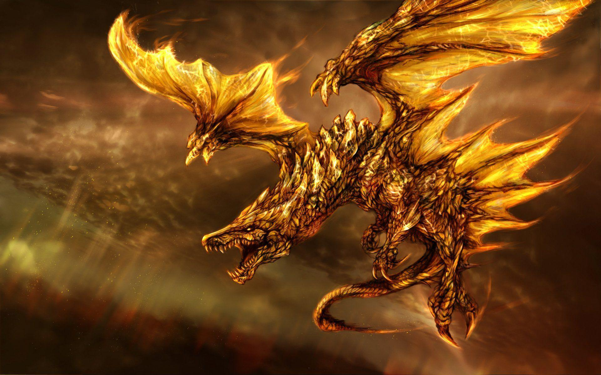 Dragon HD Wallpapers Background Images Wallpaper