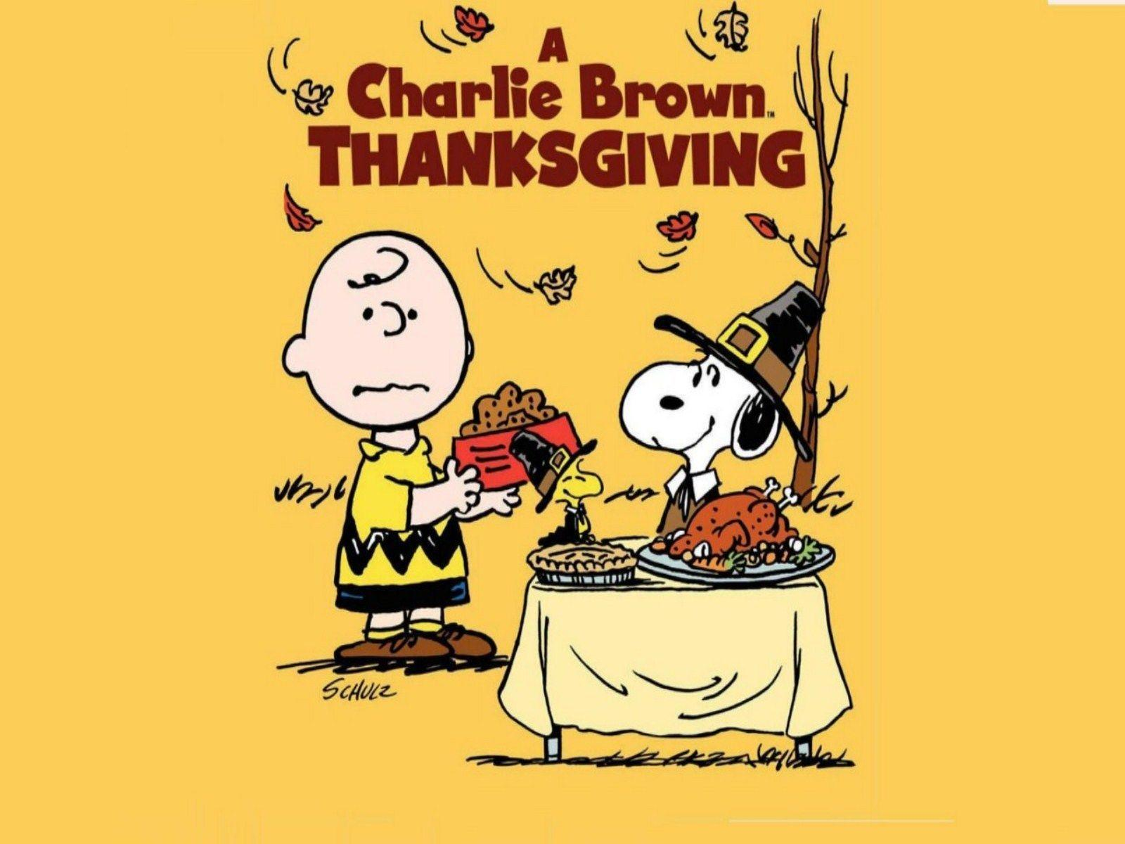 Peanuts Thanksgiving Wallpapers  Wallpaper Cave