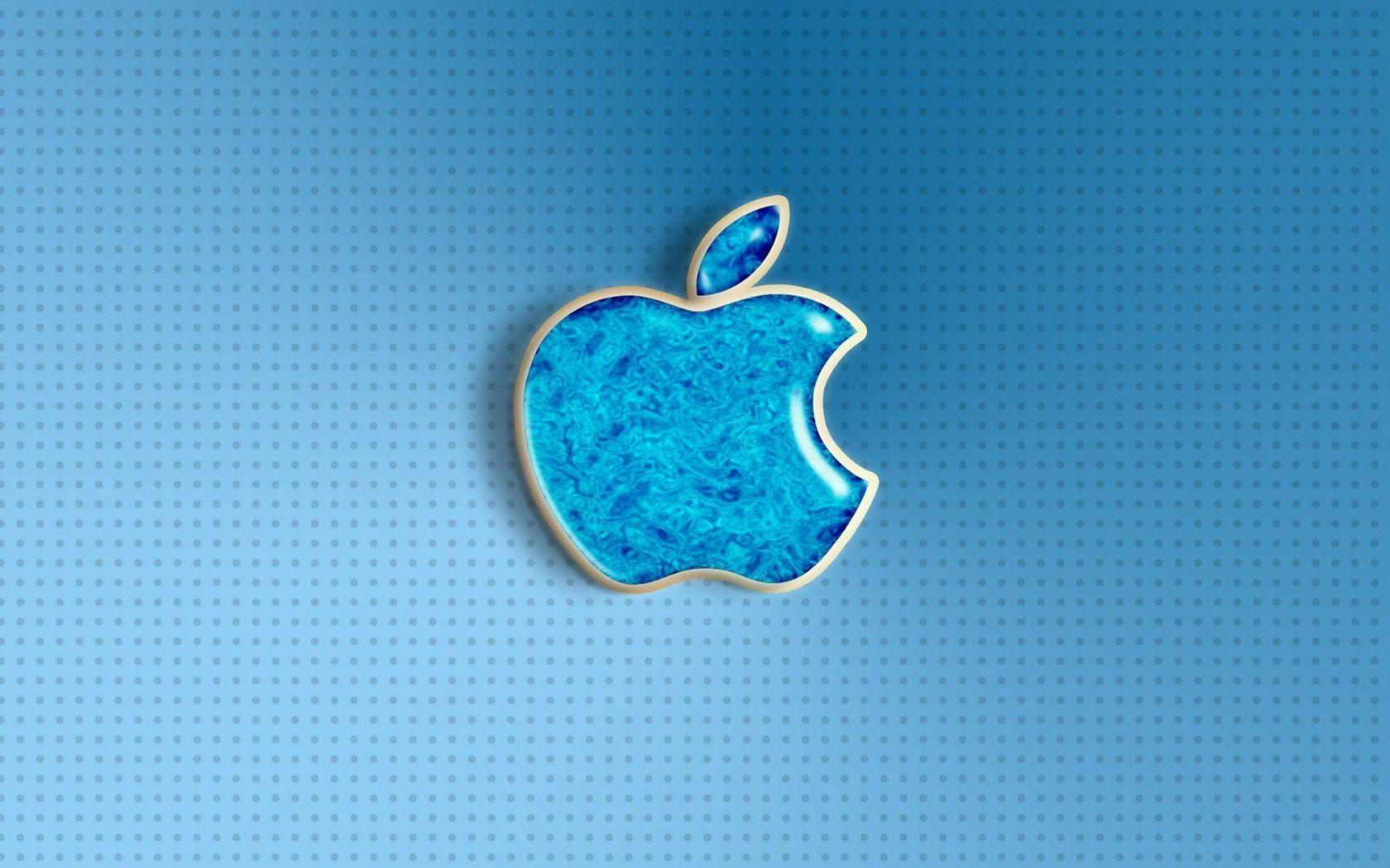 blue apple logo hd - photo #22