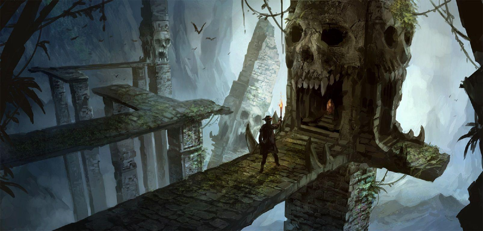 Fantasy Dungeons & Dragons Wallpapers 1605x768 px Free Download