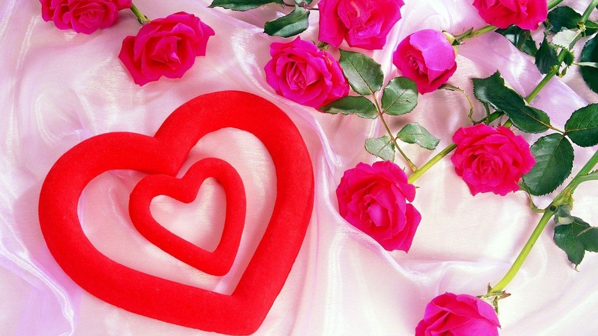 Love Red Rose Heart Wallpapers Wallpapers