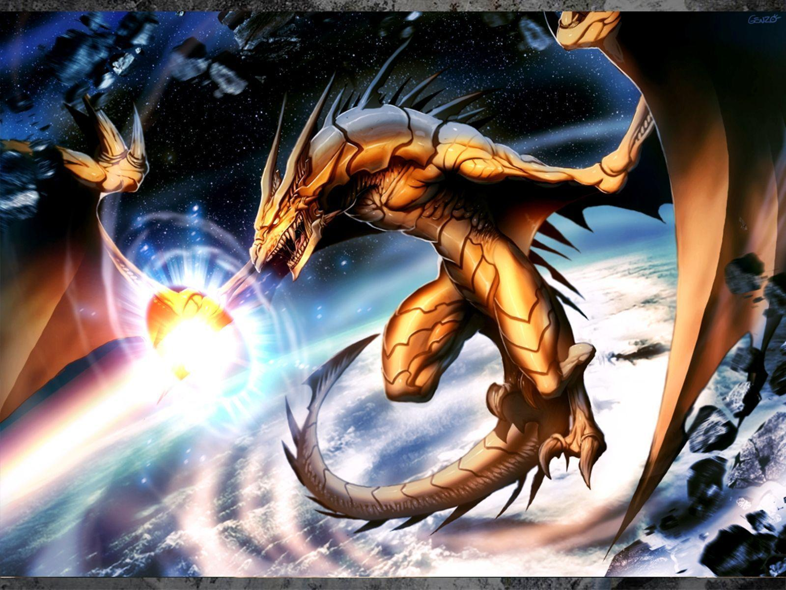 Anime dragon wallpapers wallpaper cave - Awesome dragon pictures ...