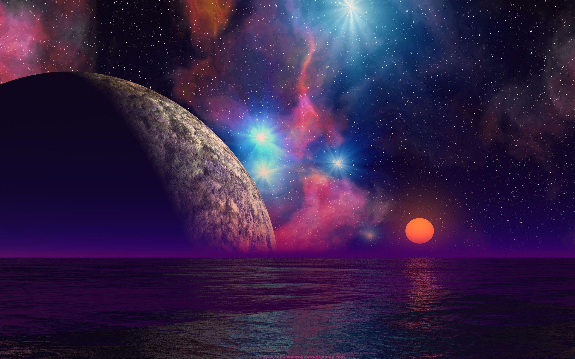 Wallpapers For > Cool Space Background Tumblr