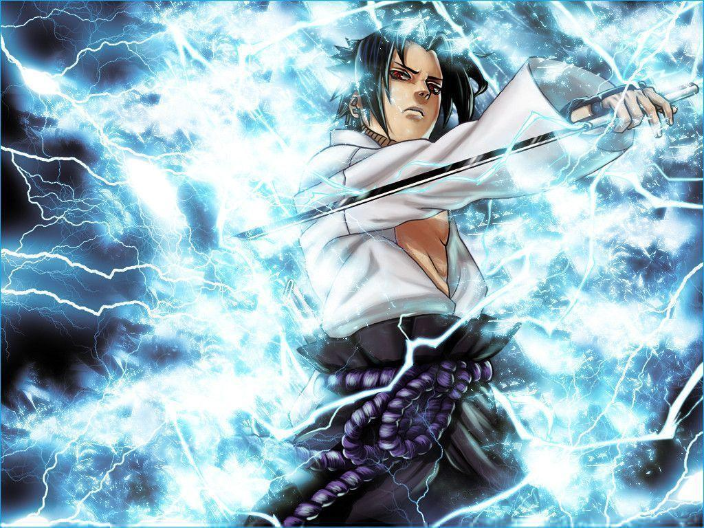 Wallpapers For > Sasuke Uchiha Shippuden Chidori Wallpapers