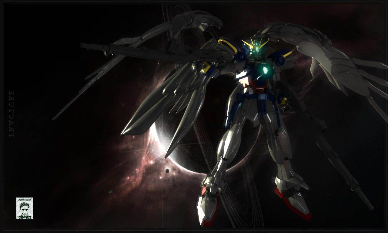 Wallpapers For > Gundam Wing Zero Wallpapers Fallen Zero Hd